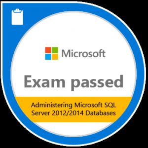 Badge Administering Microsoft SQL Server 2012_2014 Databases